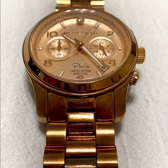 Michael Kors Watch (Paris Limited Edition)
